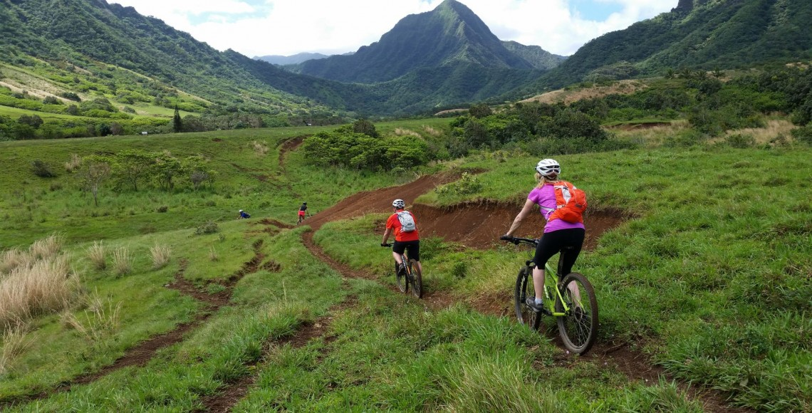 Mountain Biking Kualoa