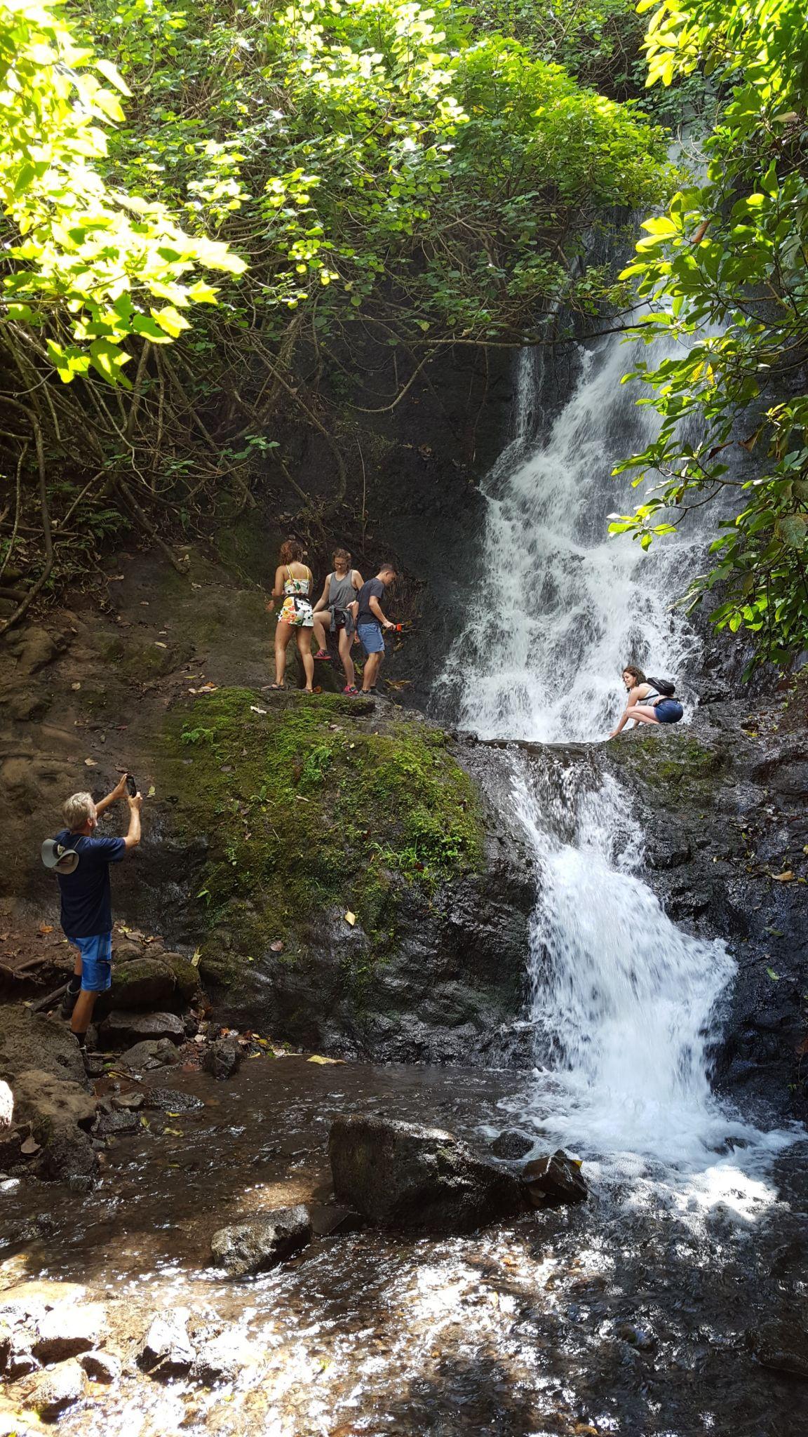 Ko Olau Waterfall Hike Bike Hawaii