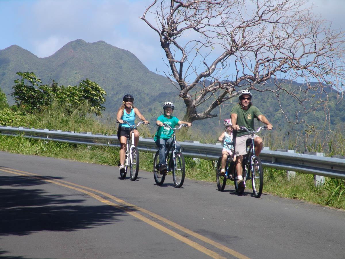 Oahu Mountain Bike Tours