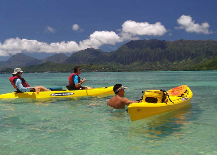 Kayak, Hike And Snorkel Adventure