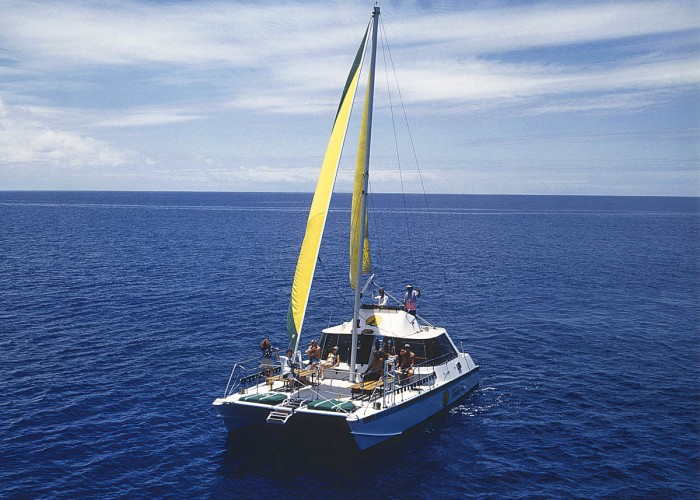 Diamond Head Sail And Snorkel Adventure