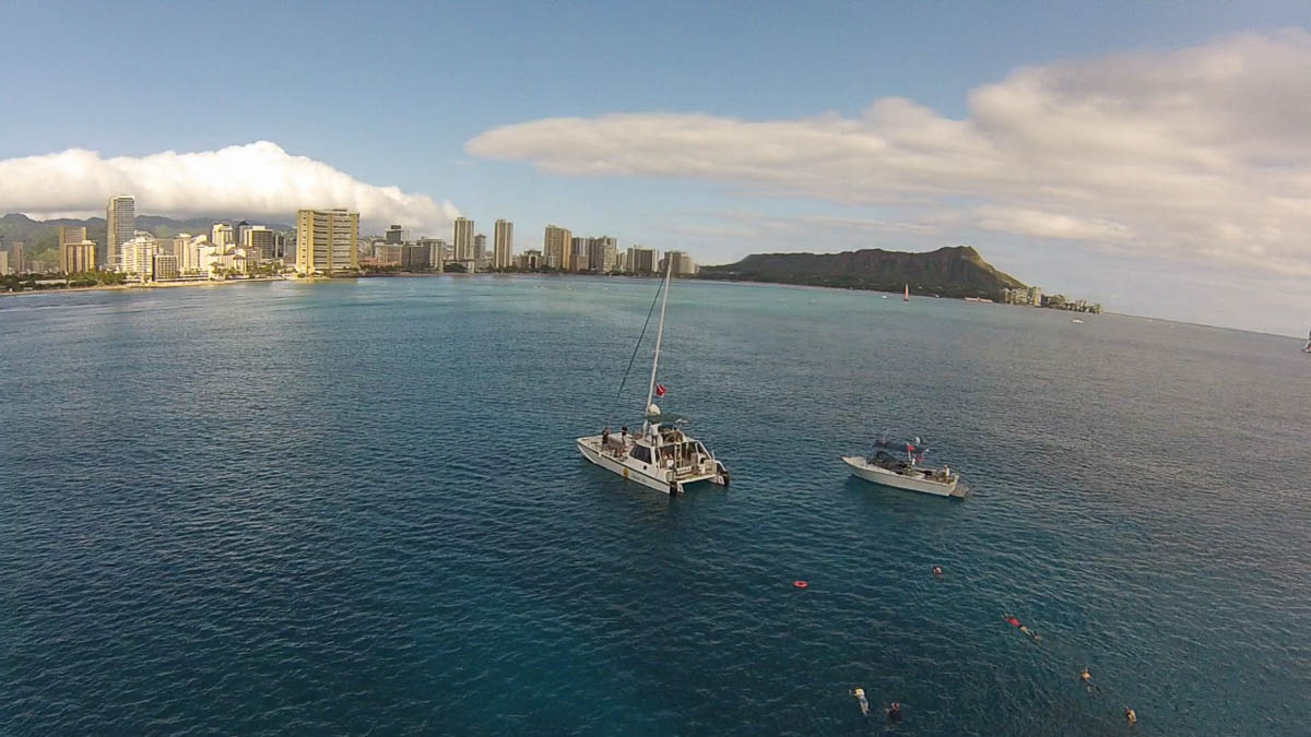 Diamond Head Sail And Snorkel Adventure - Bike Hawaii